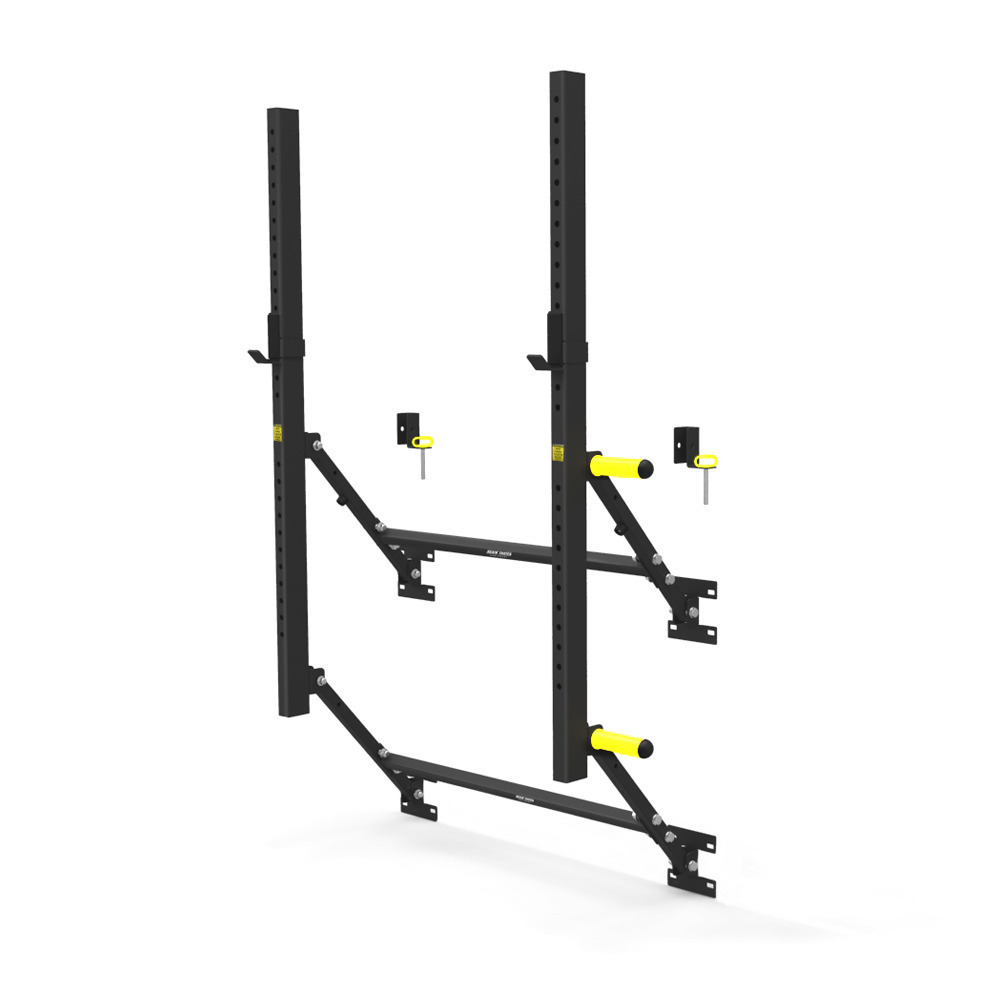 Again faster new zealand wall mounted fold up squat rack