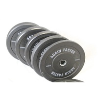Virgin Rubber Bumper Plates KG (Pair)