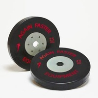 Ex Comp - Competition Bumper Plates 25kg (each plate))