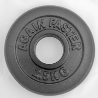 Ex-Comp - Cast Iron Olympic Plate 1.25kg (each plate)