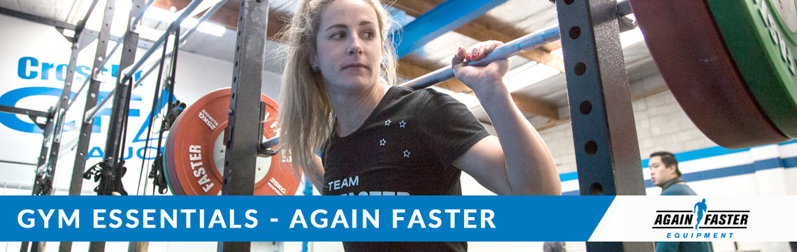 Again Faster Gym Essentials Banner